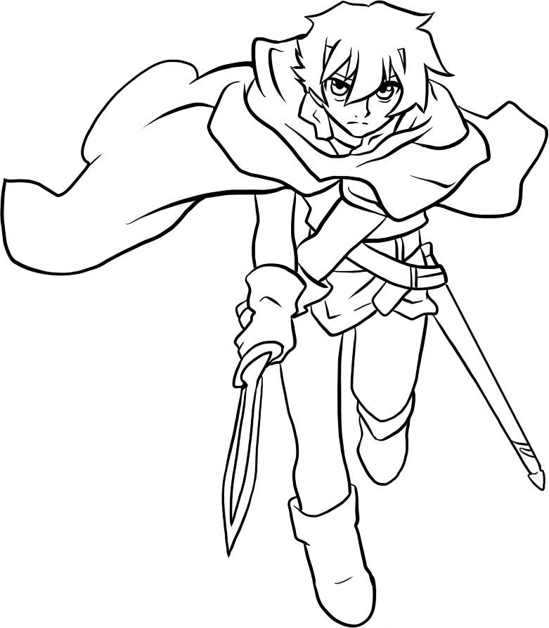Colouring Pages Beast Quest : Deltora quest colouring pictures az coloring pages