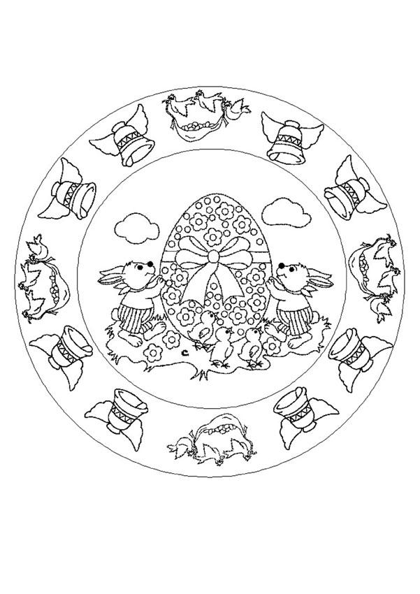 difficult mandala coloring pages - photo#19
