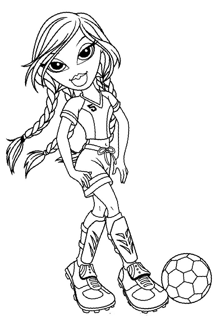 coloring pages games bratz free - photo#23