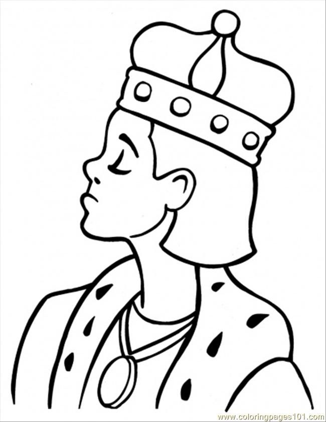 Coloring Pages King : Royal king colouring pages page coloring home