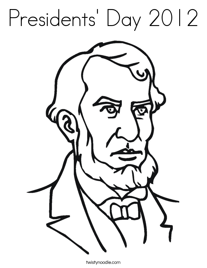 presidents coloring pages printable - photo#16