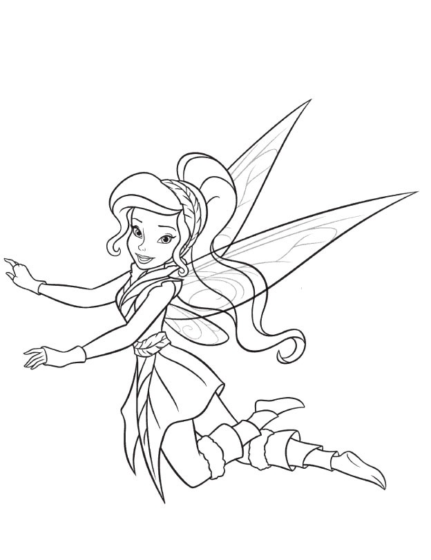 Vidia Tinkerbell Drawing Vidia The Fairy Coloring Pages