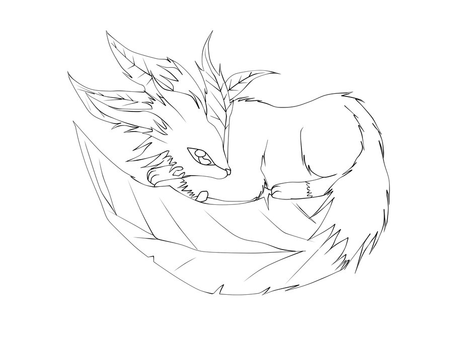 leafeon coloring pages - photo#7