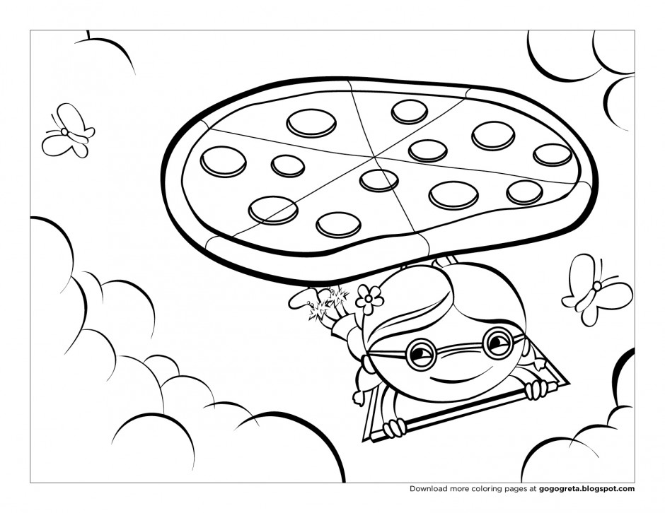 free thinking coloring pages - photo#13