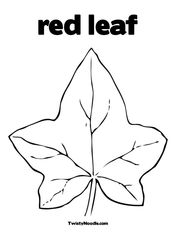 Autumn-leaf-coloring-2 | Free Coloring Page Site