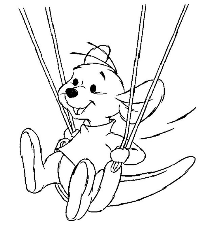 kanga and roo coloring pages - photo#36