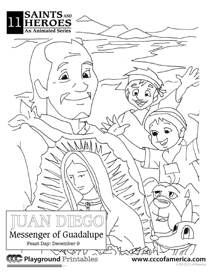 Our Lady Of Lourdes Coloring Page - Coloring Home