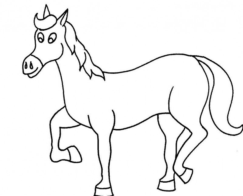 HD wallpapers horse coloring pages that you can print