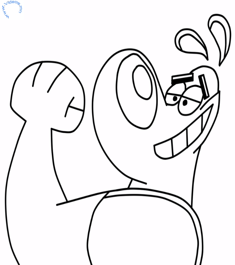 Special agent oso coloring pages az coloring pages for Oso coloring pages