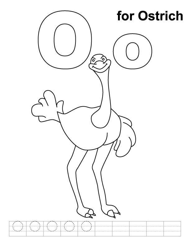 o coloring pages - photo #40