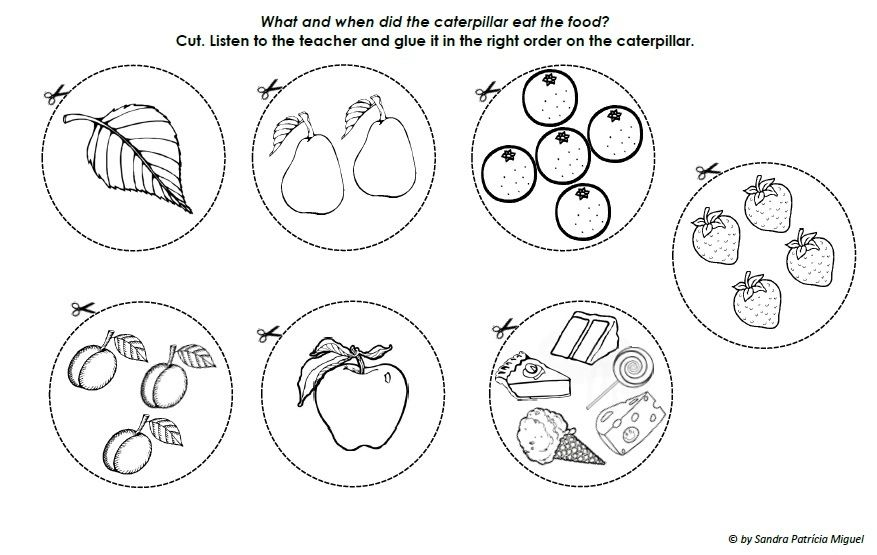 Very Hungry Caterpillar Coloring Pages - Free Coloring Pages For ...