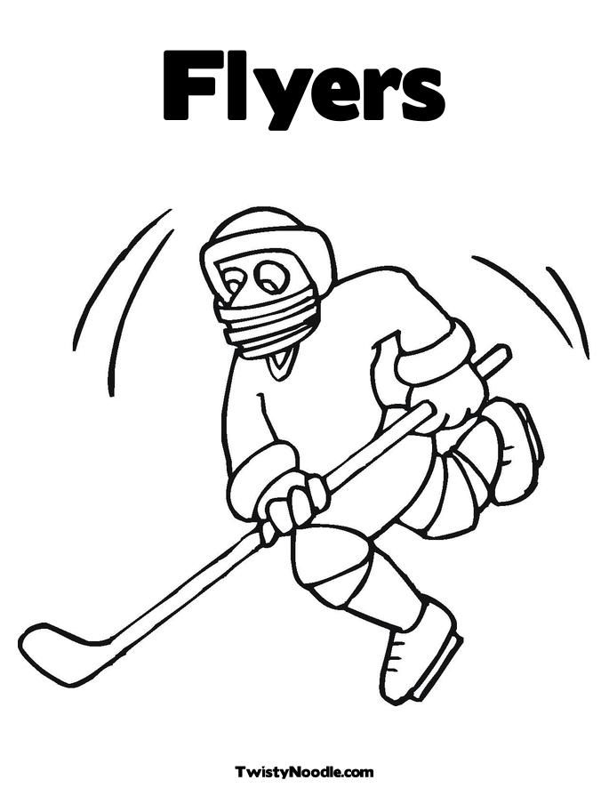 Flyers coloring pages coloring home for Flyers coloring pages