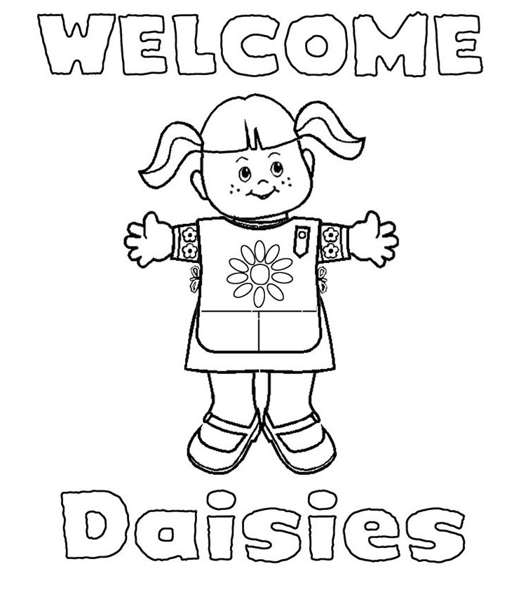 girl scout cookies coloring pages - photo#11
