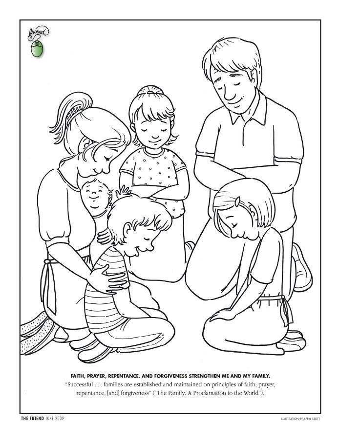 Lds Nursery Coloring Pages