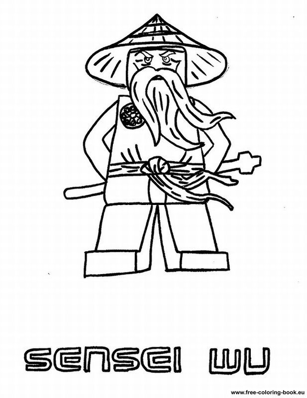 Coloring Pages Of Lego Ninjago - Coloring Home