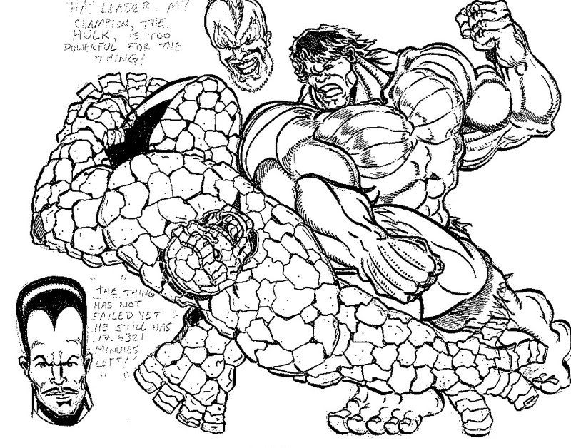 Drawing of the hulk coloring home for Coloring pages incredible hulk