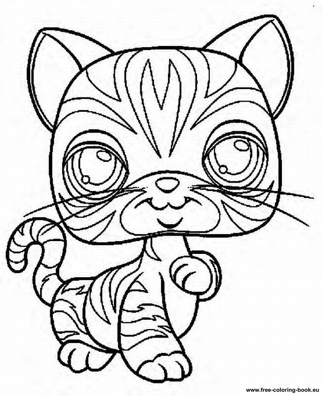 Littlest Pet Shop Peacock coloring page | Free Printable Coloring ... | 800x652