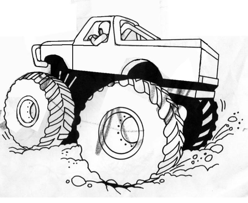 Toyota 4x4 Pickup Offroad 99132297 further How To Draw Construction Vehicles9 together with The Incredibles Elastigirl Coloring Pages together with Printable Monster Truck Coloring Pages 59949 likewise Dodge Truck Coloring Pages. on mud truck coloring pages