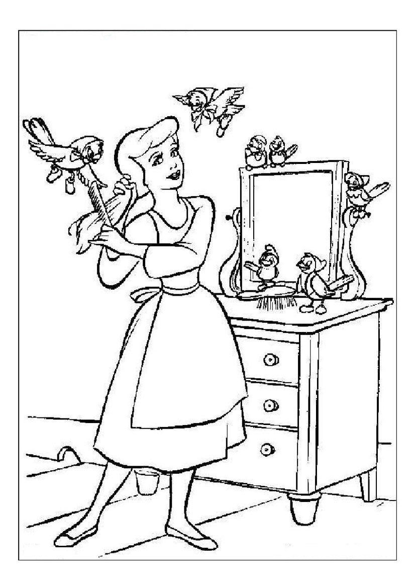 cinderella dress coloring page coloring home