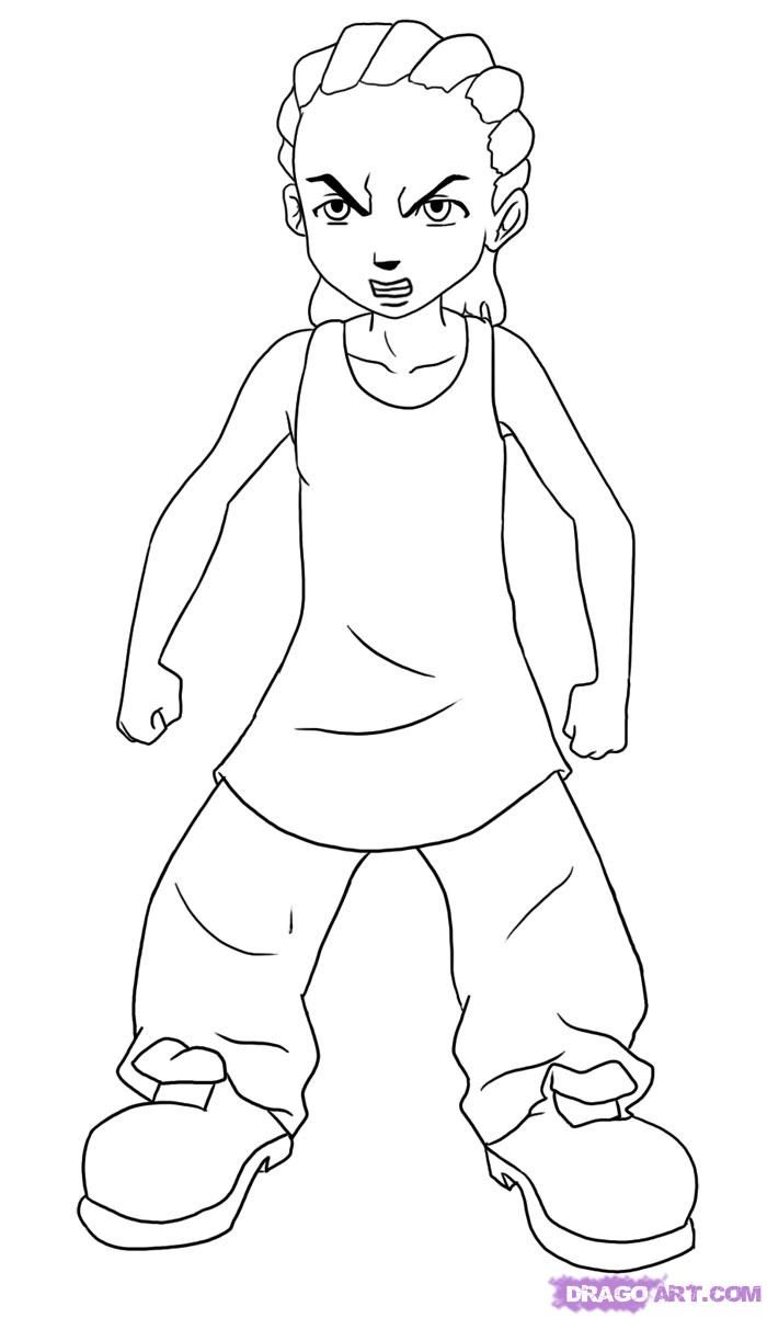 boondocks coloring pages family guy coloring pages - Family Guy Coloring Pages