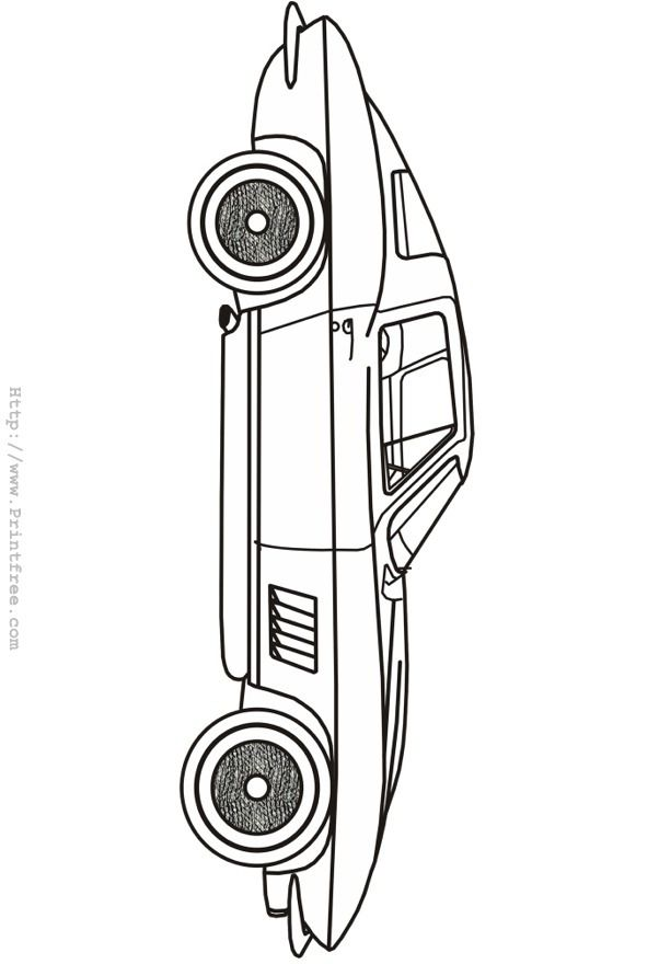 Rat Rod Coloring Pages Coloring