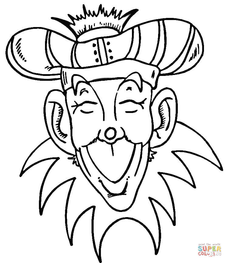 Mardi Gras coloring pages | Free Printable Pictures