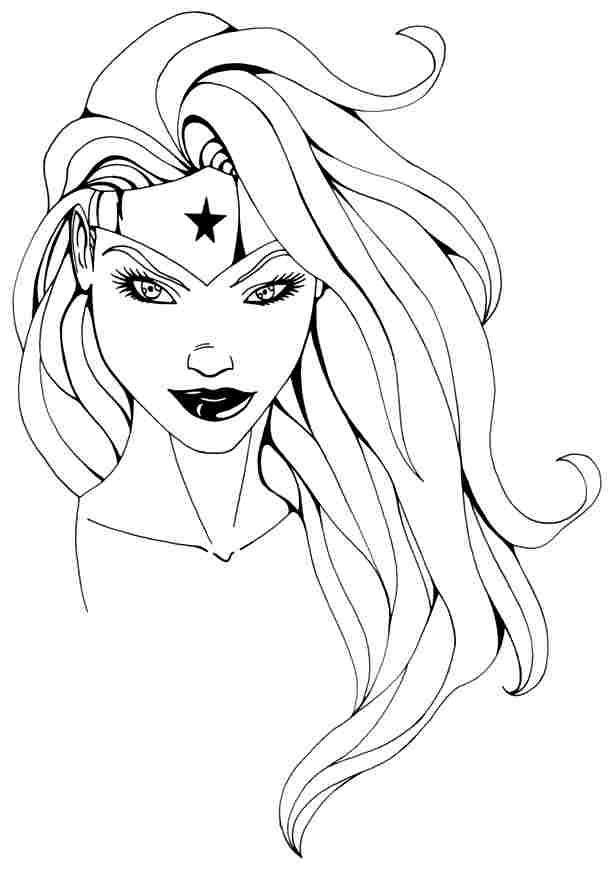 Superhero Girls Coloring Pages - Coloring Home
