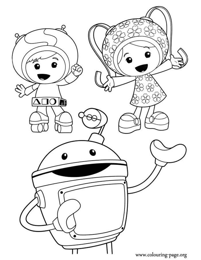 Study Team Umizoomi Printable Coloring Pages 2c621, Printable ...