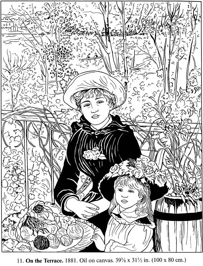 rembrandt coloring pages - photo#3
