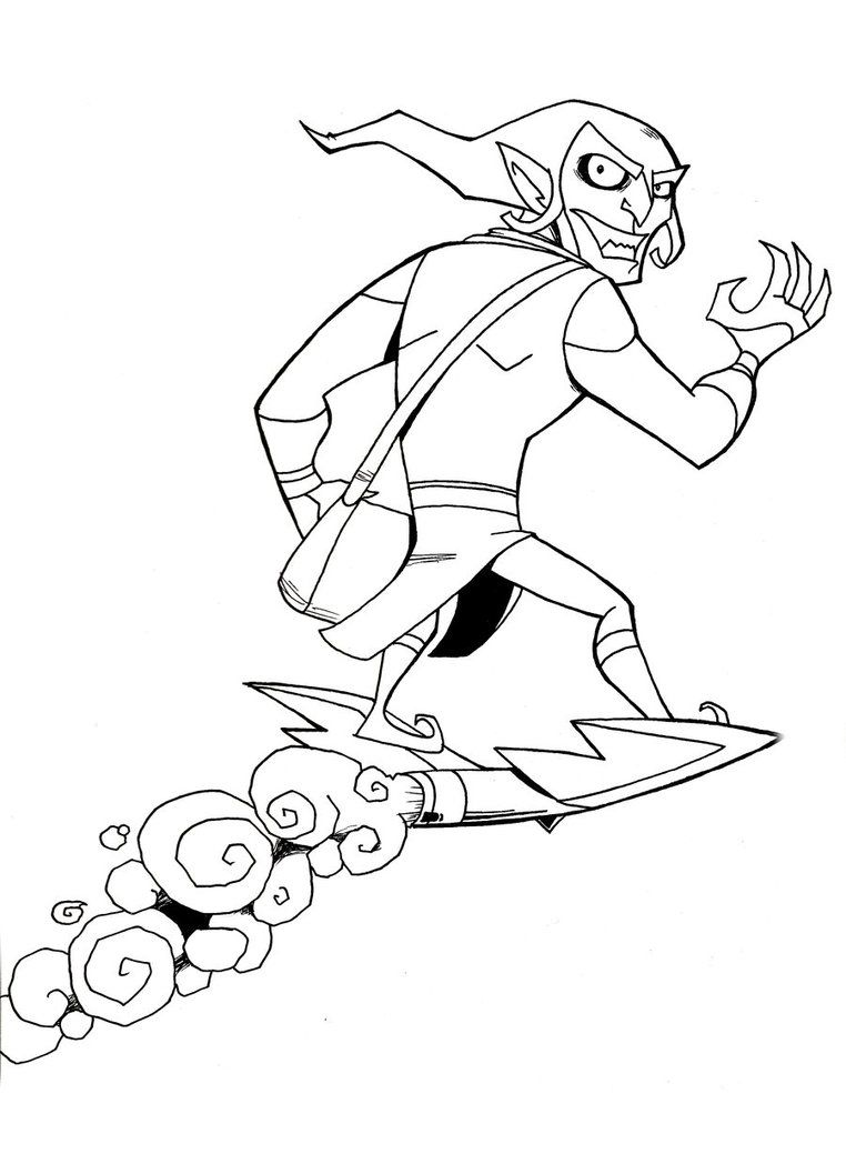 Adult Cute Green Goblin Coloring Pages Gallery Images best spiderman green goblin coloring pages az for kids and adults images
