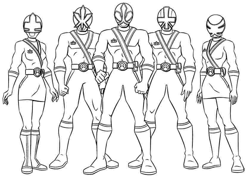 power ranger coloring pages printable - photo#7