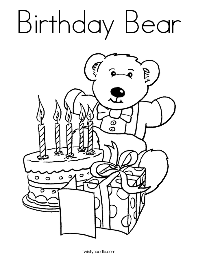 Mom Birthday Coloring Pages - Coloring Home