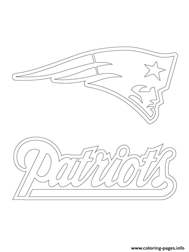 picture about Printable Patriots Logo named Refreshing England Patriots Coloring Internet pages - Coloring Household