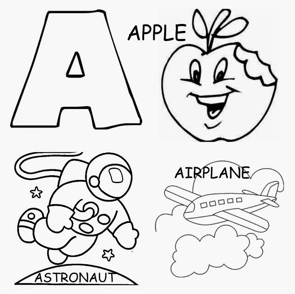 Toddler Letter Coloring Pages free printable alphabet coloring ...