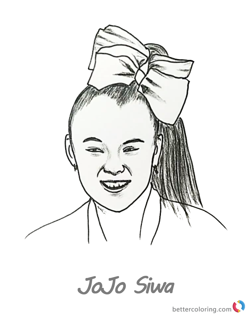 Coloring Pages : Jojo Siwa Coloring Sheets Pages Google ...