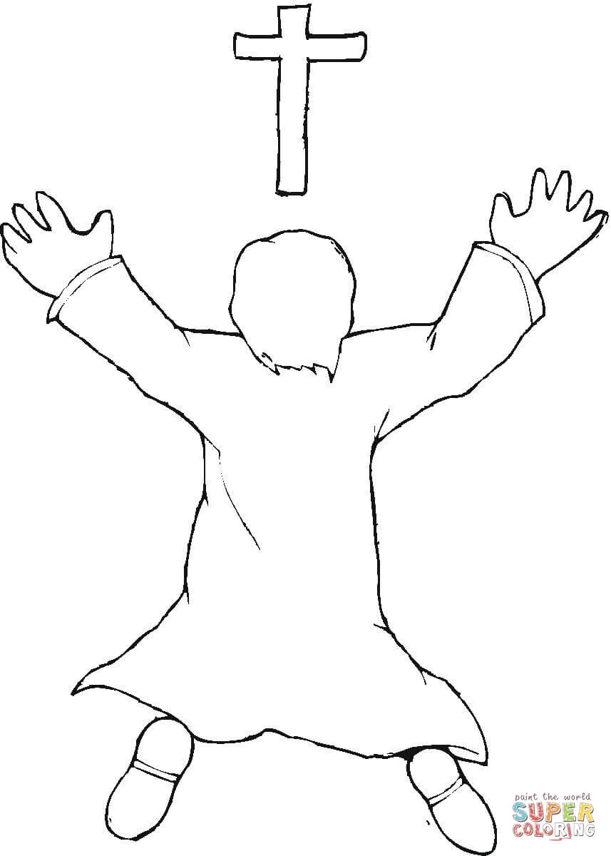 Worship coloring page | Free Printable Coloring Pages