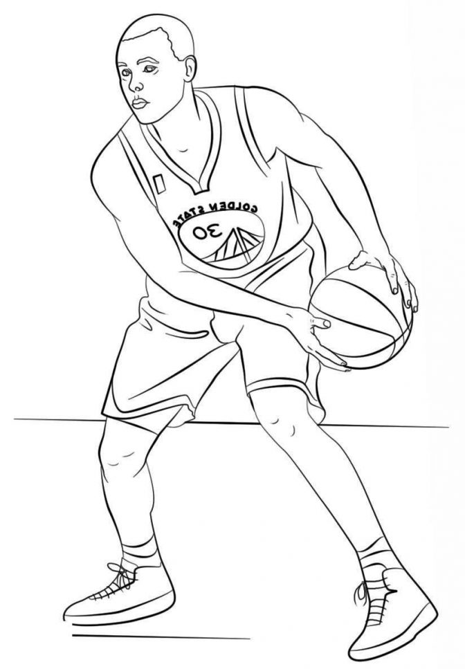 Stephen Curry Coloring Pages Collection - Whitesbelfast - Coloring Home
