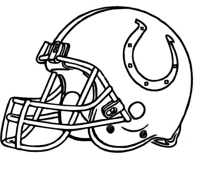 Colts Coloring Page Coloring Home Printable Colts Coloring Pages