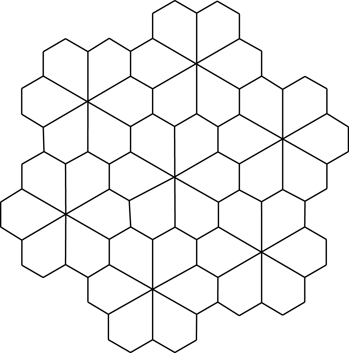 Printable Tessellation Coloring