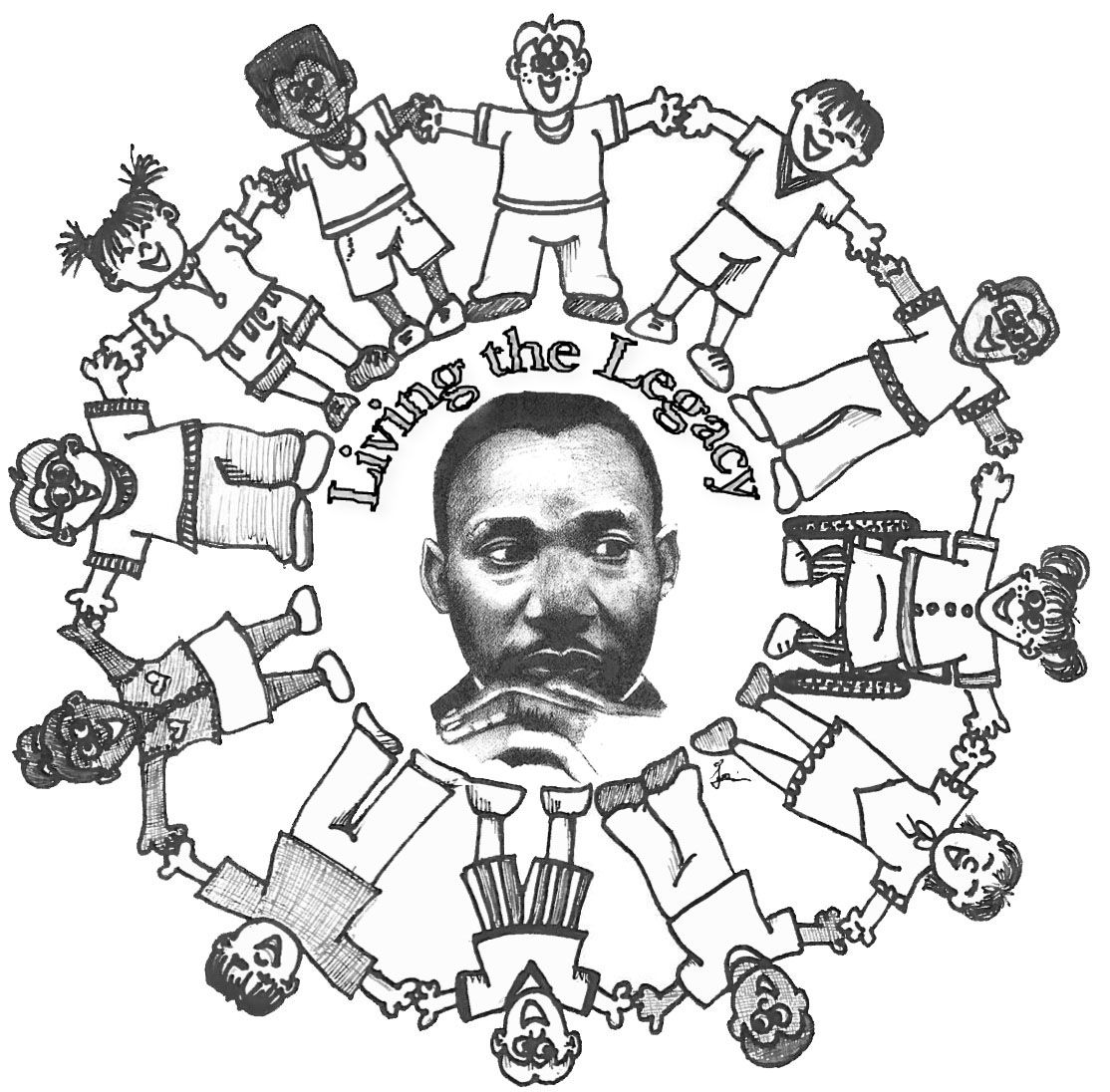 Coloring Pages Of Martin Luther King Jr - Best Coloring ...