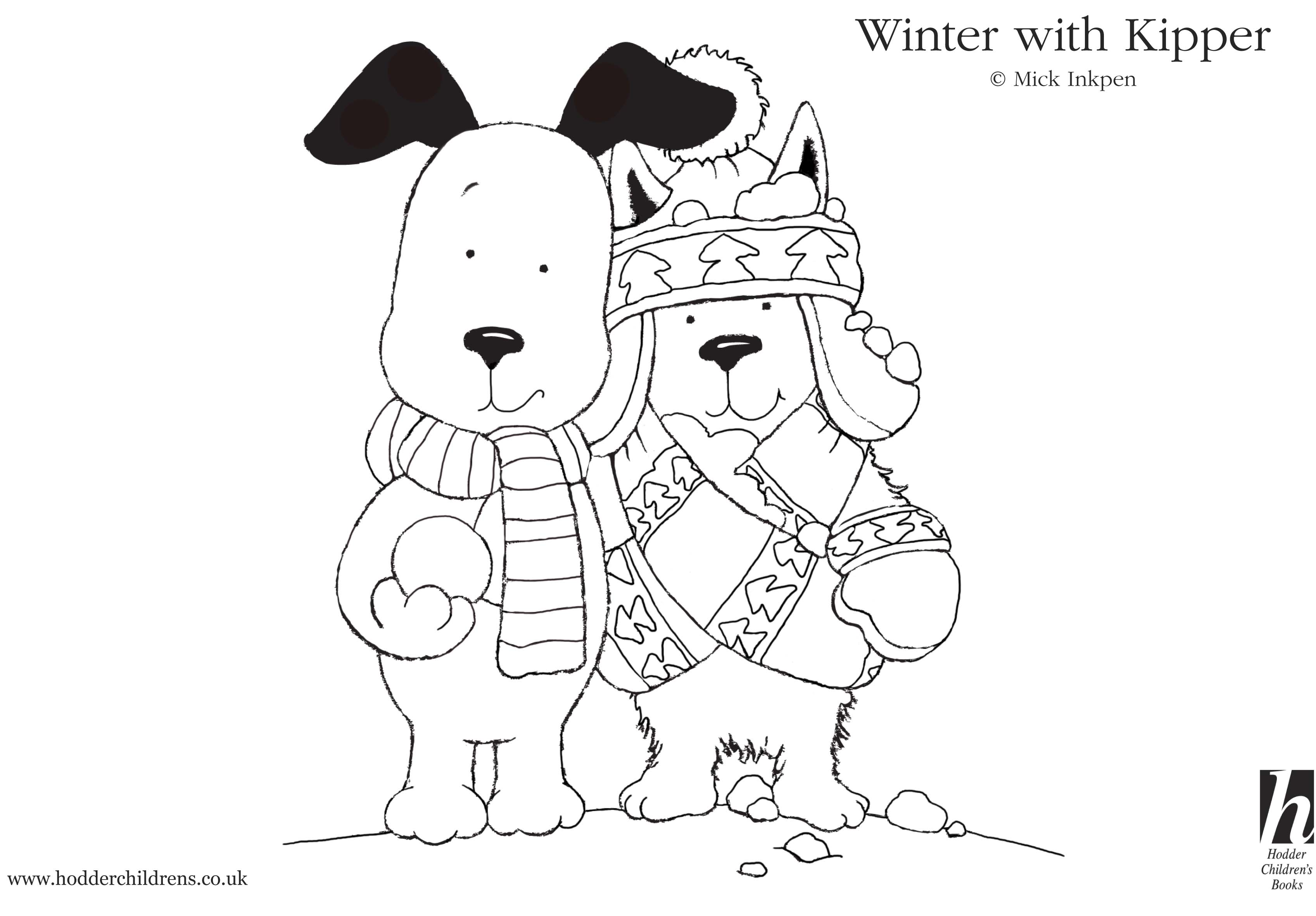 scholastic printables christmas coloring pages - photo#31
