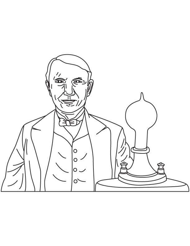 thomas edison outline Thomas edison's incandescent lamp eventually lit millions of homes the talking  machine, or phonograph, was perfected by edison, who, in conjunction with.