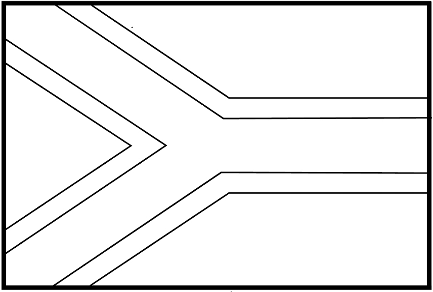 South african flag coloring page az coloring pages for Africa flag coloring page