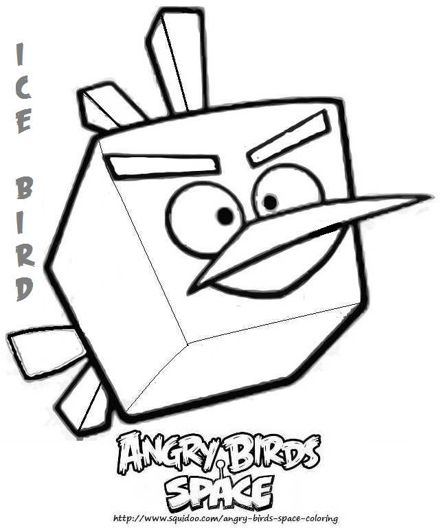 Angry Birds Red Coloring Pages - Coloring Home