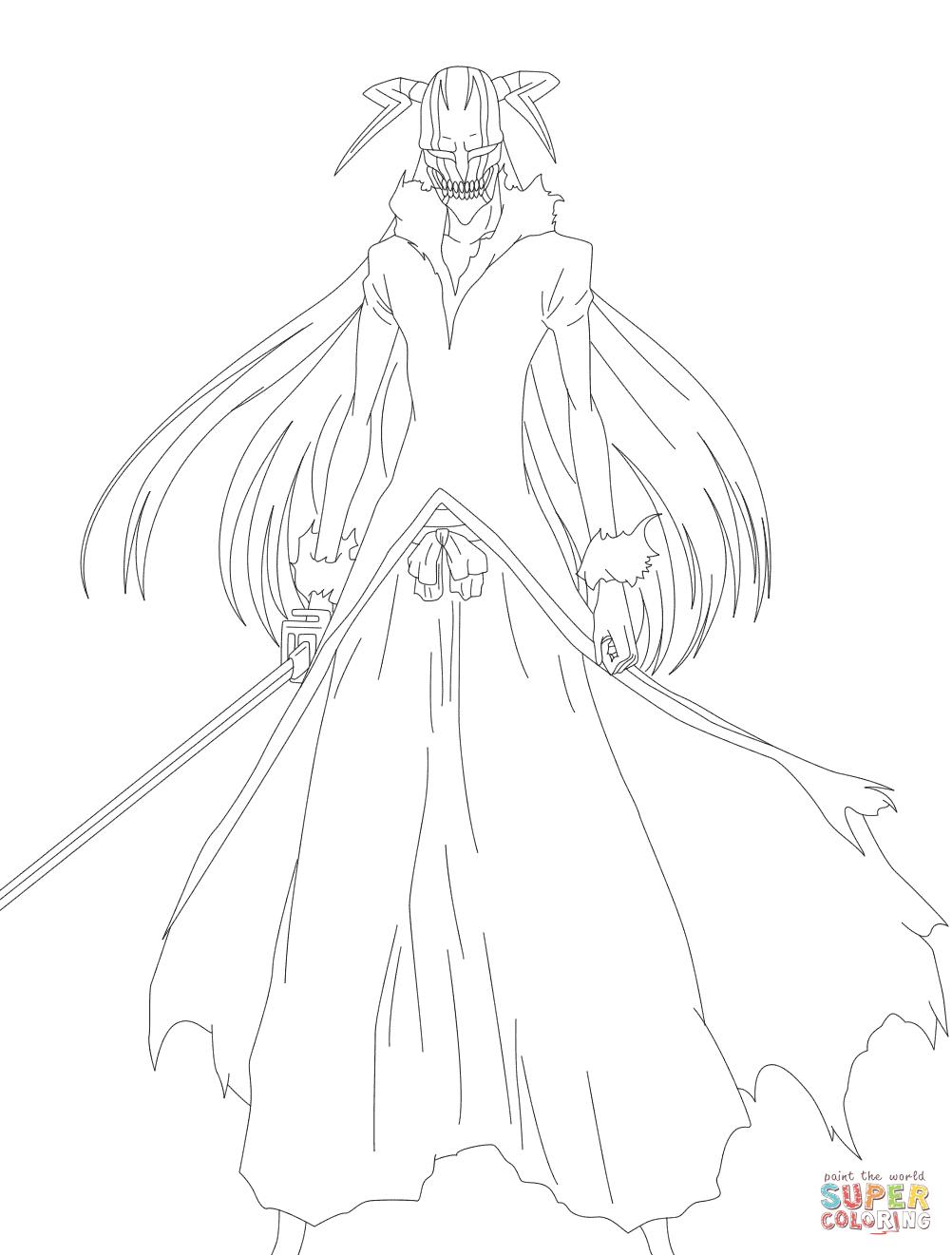 Ichigo Coloring Pages Coloring