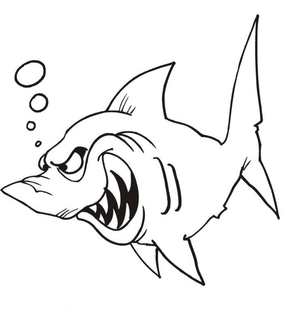 Free coloring pages fish - Fish Printable Coloring Pages Coloring Page