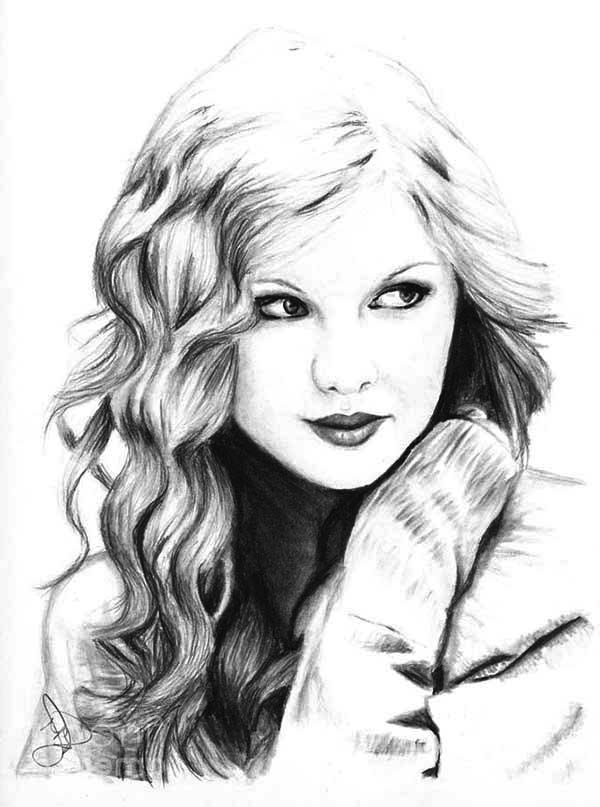 Free taylor swift coloring pages printables coloring home for Taylor swift coloring pages
