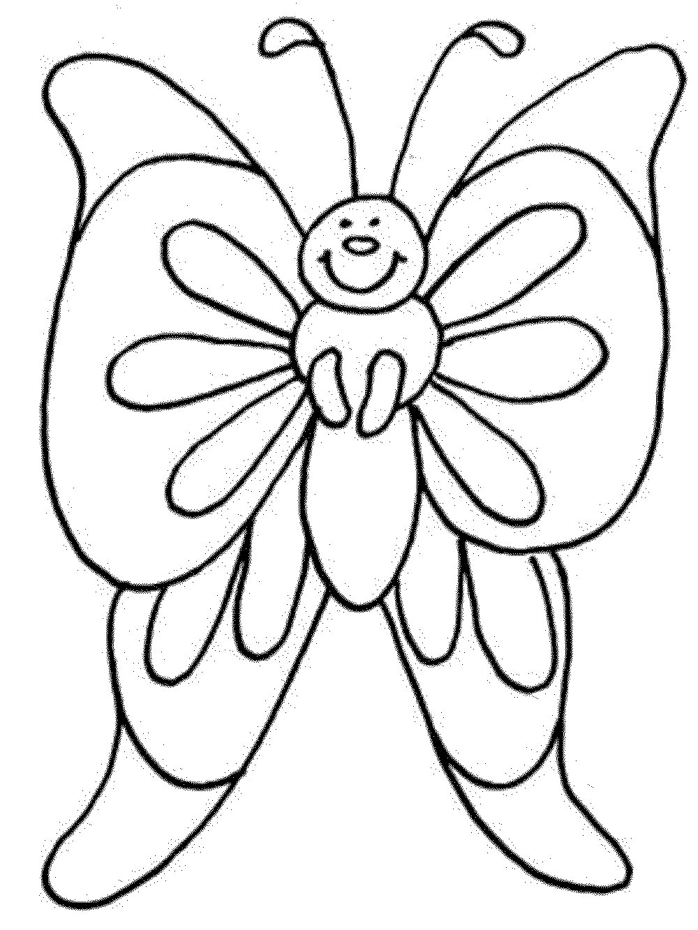 coloring pages of flowers and butterflies flower color pages pot printable kids colouring pages