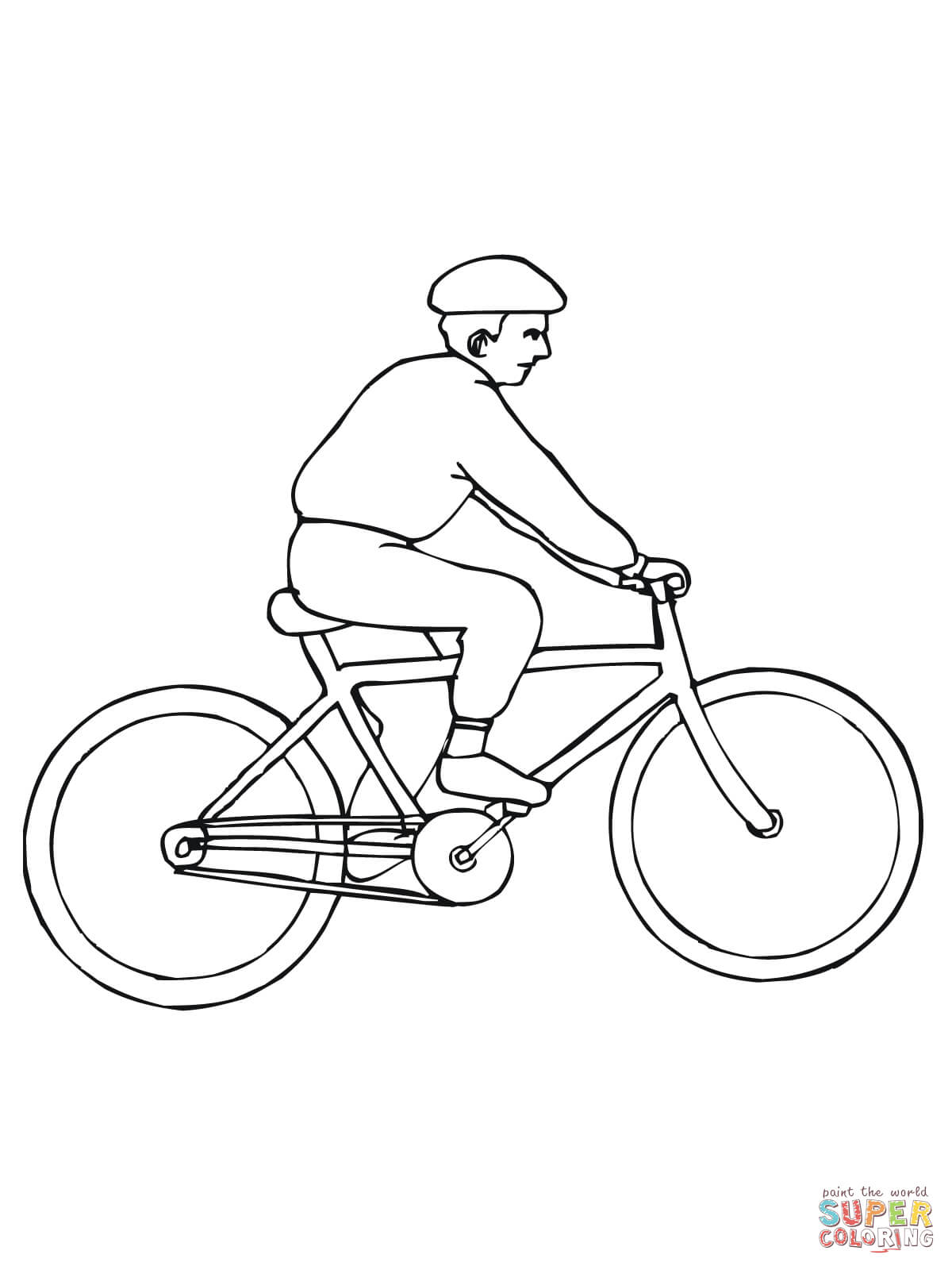 Mountain bike coloring pages az coloring pages for A z coloring pages