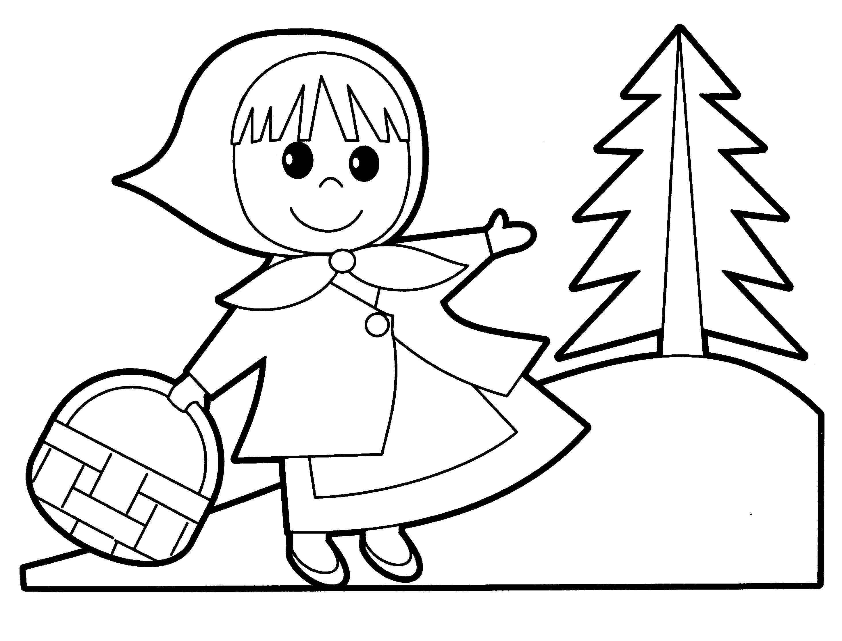 Coloring Pages Of People For Kids